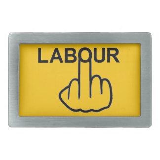 Belt Buckle Labour Flip