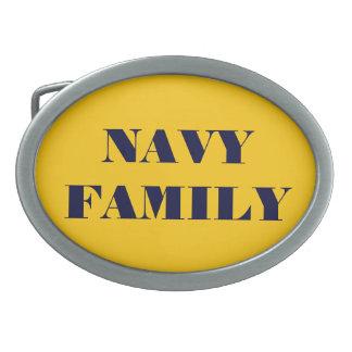 Belt Buckle Navy Family