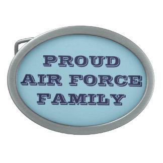 Belt Buckle Proud Air Force Family