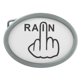 Belt Buckle Rain Flip