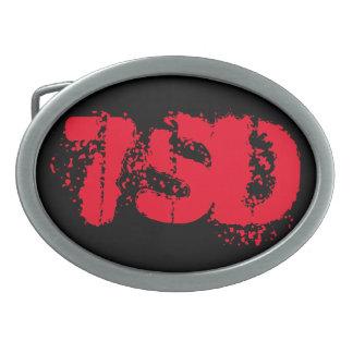 Belt Buckle Red 7SD