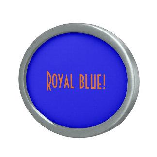 Belt Buckle Royal Blue