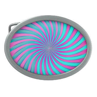 Belt Buckle Spiral Vortex