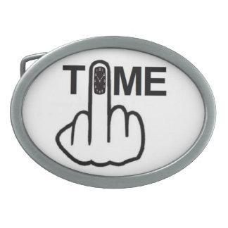 Belt Buckle Time Flip