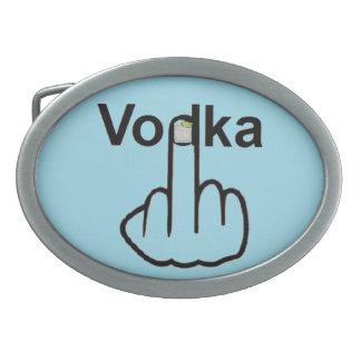 Belt Buckle Vodka Flip