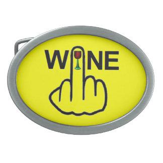 Belt Buckle Wine Flip
