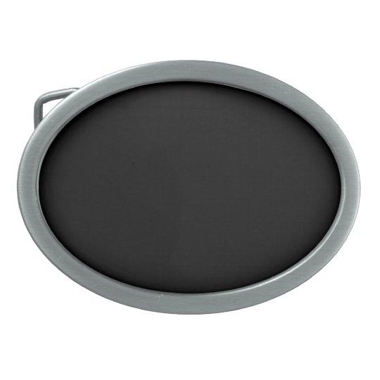 Belt Buckle with Black Background