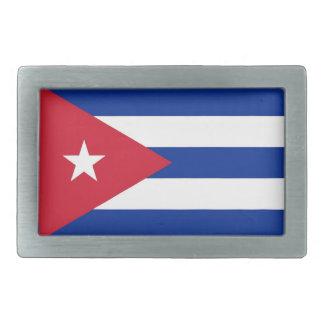 Belt Buckle with Flag of Cuba