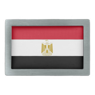 Belt Buckle with Flag of Egypt