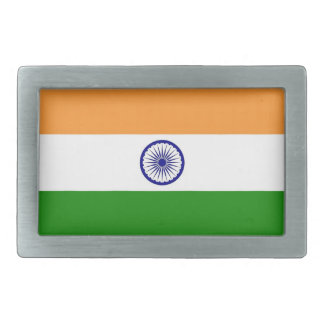 Belt Buckle with Flag of India