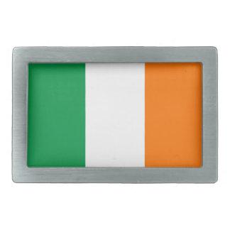 Belt Buckle with Flag of Ireland