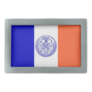 Belt Buckle with Flag of New York City