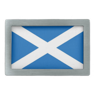 Belt Buckle with Flag of Scotland