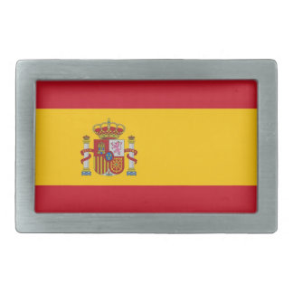 Belt Buckle with Flag of Spain