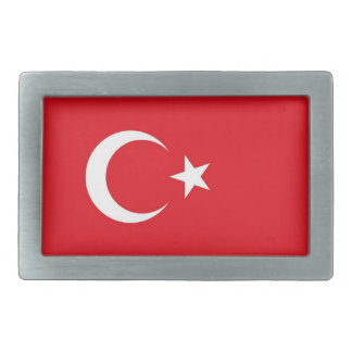 Belt Buckle with Flag of Turkey
