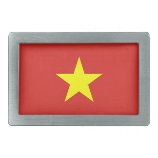 Belt Buckle with Flag of Vietnam