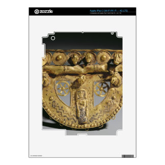 Belt-buckle with granulated decoration, Orientaliz iPad 3 Decals