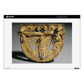 Belt-buckle with granulated decoration, Orientaliz Laptop Skins