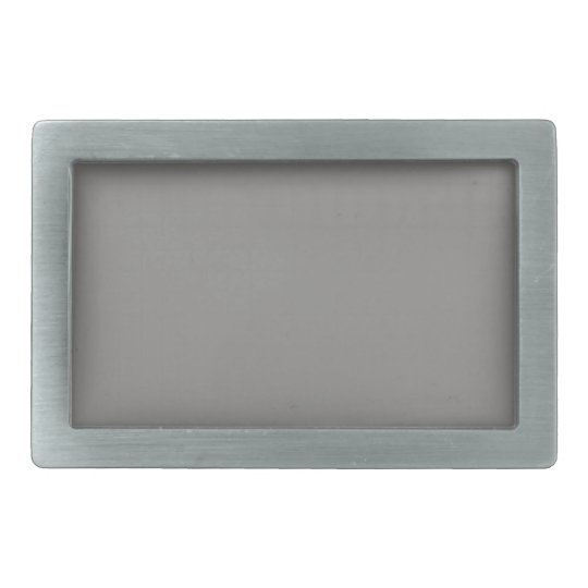 Belt Buckle with Gray Background