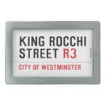king Rocchi Street  Belt Buckles
