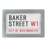 baker street  Belt Buckles