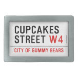 cupcakes Street  Belt Buckles