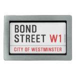 Bond Street  Belt Buckles