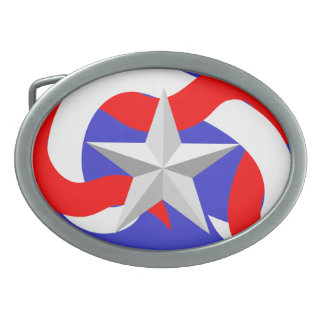 Belt Buckles Stars and Stripes 1