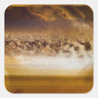 Belt of Jupiter Geode Square Sticker