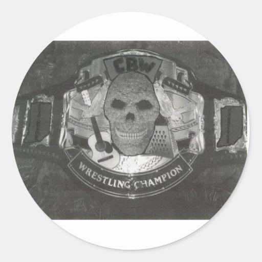 belt sticker