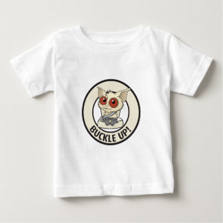 Belt your kids to show you love them baby T-Shirt