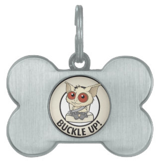 Belt your kids to show you love them pet ID tag