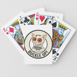 Belt your kids to show you love them bicycle card deck