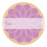 Beltain Petals Mandala Gift Tag