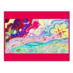 Beltaine Fantasy / Dream Art Postcard 2