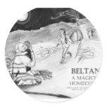 Beltane A Magickal Homecoming Design #1 Classic Round Sticker