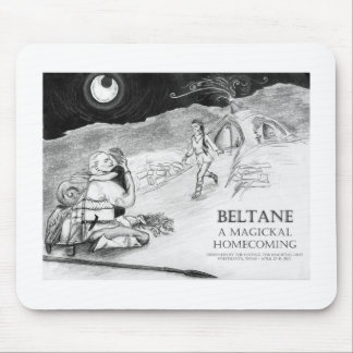 Beltane A Magickal Homecoming Design #1 Mouse Pad