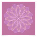 Beltane Bloom Kaleidoscope Mandala Card