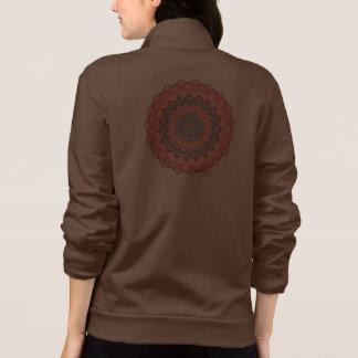 Beltane Bloom Kaleidoscope Mandala Jacket