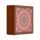 Beltane Bloom Kaleidoscope Mandala Pencil Holder