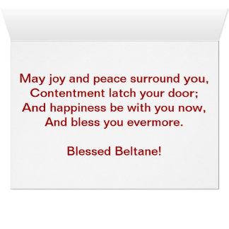 Beltane card
