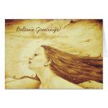 """""""Beltane Greetings"""" Card"""