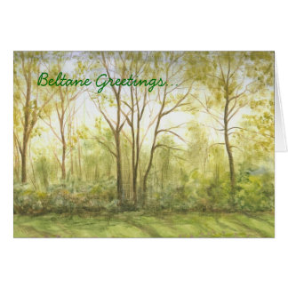 """Beltane Greetings"" Card"
