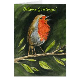 """Beltane Greetings"" Greeting Card"