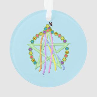 Beltane Pentagram Ornament