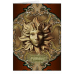 Beltane Sun Sprite Greetings Card