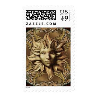 Beltane Sun Sprite Stamp