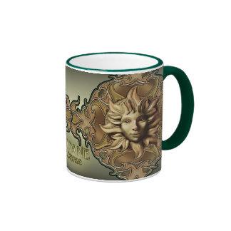 Beltane Sun Sprite Ringer Mug