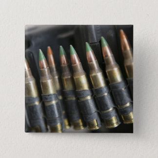 Belted bullets for an M-249 squad automatic wea Button
