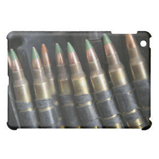 Belted bullets for an M-249 squad automatic wea iPad Mini Covers